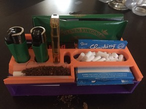 Rolling tobacco stand