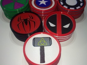 Avengers Coasters!