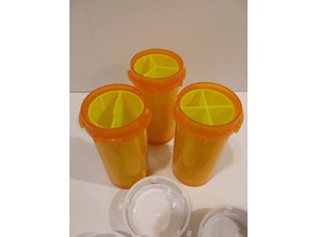 Medicine Rx Pill Bottle Organizers - 13d size bottle