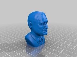 Franklin Delano Roosevelt Bust