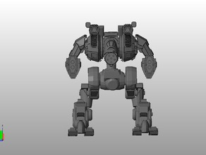 MWO Style Blood Asp Battletech boardgame miniature (Outdated)
