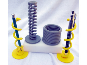 Helical Desk Set