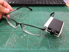 Mobius Mini Holder for Spectacle Eye Level View Recording