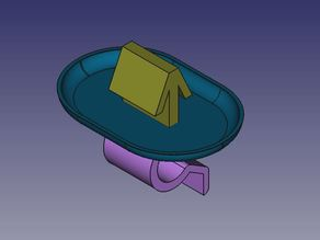 Clip Cover Engine Citroen