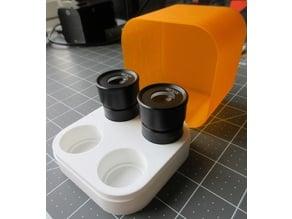 Microscope lens case (4 lenses - 30.5mm)