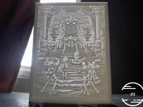 Rick And Morty Lithophane #3