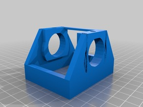 marker holder for drawing 2d with your cr-10 3d-printer