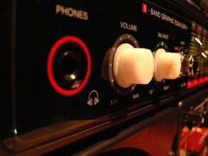 Lasonic Ghettoblaster Volume Knob