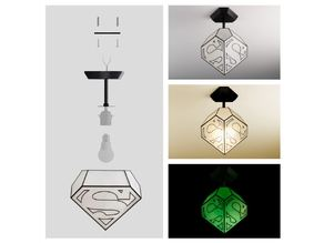 Kids Superman lamp - SMALL