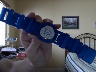 Modular 3D-Printable Watch Prototype