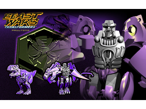 Transformers kit : [ MEGATRON ] - predacon