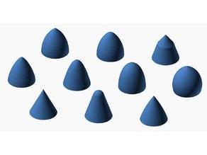 Nose Cone OpenSCAD Library, 1.0