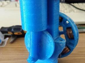 Vertical Oscilating Wobbler Engine