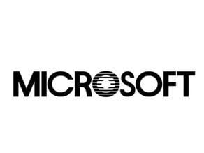 Microsoft Logo (1982-1987)