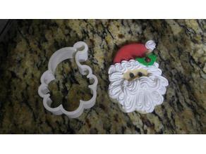 Cortador de galletas de santa claus/santa claus cookie cutter