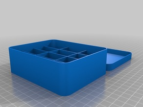 125x100x40 Box and Lid