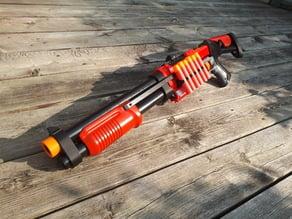 Nerf Magnus shotgun parts