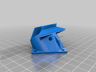 Replicator 1 Cooling Fan - Split for Printing