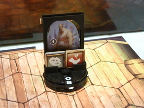 Gloomhaven slot-in standees with health and conditions