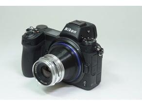 Nikon Z Mount to Braun Paxette 39mm Adapter