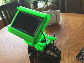 Quanum FPV goggles mount kit for Turnigy 9X