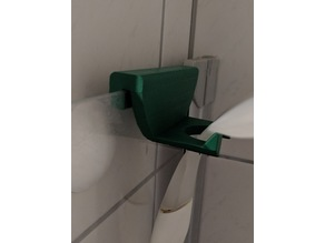 Holder for shower wiper