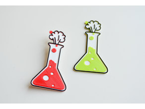 Love chemistry brooch/pin vol2