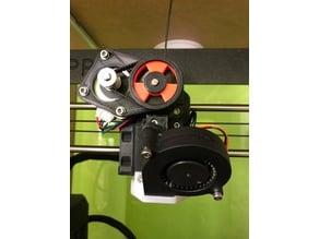 Custom 2GT 56T Pulley for Skelestruder or BNB Extruder