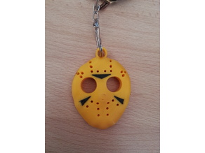 Keychain Friday the 13th mask