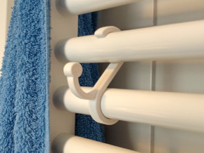 Bathroom Towel Holder 25mm w Fusion file