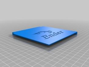 Simple shelf for the Ender 3