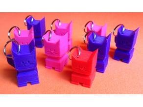 CaliCat Keychain