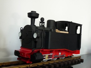 G-Scale Locomotive