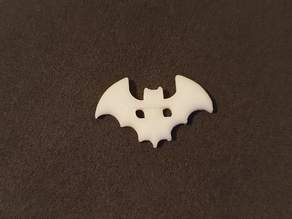 Bat shaped Button