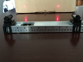 Builders Analog Laser Large Droid Range Optical Indicator Device