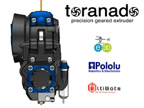 The Toranado Precision Geared 1.75mm Extruder - v2.1