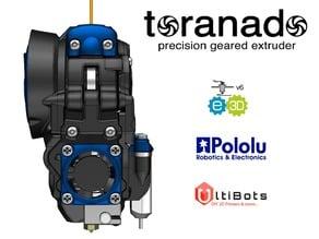 The Toranado Precision Geared 1.75mm Extruder - v2.1