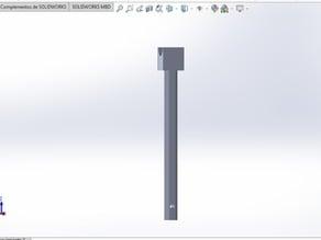 Soporte para filamento p3 steel