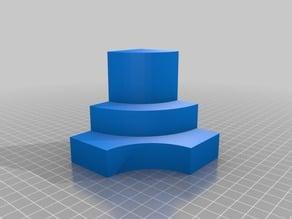 Figuras 3D para trabajar la obtención de vistas ortogonales XI