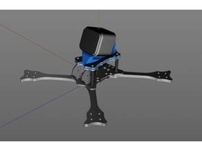 Emax Hawk 5 GoPro Mount with VTX Antenna holder