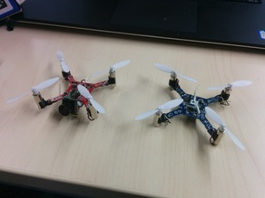 Minimal (customizable) motor mounts for various toy quadrotors