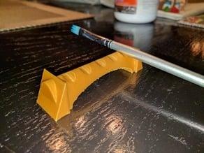 Paint brush rest