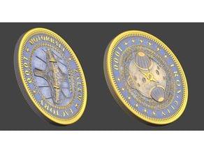 Alita Battle Angel coin