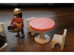 round table [playfab 191007 - playmobil compatible]