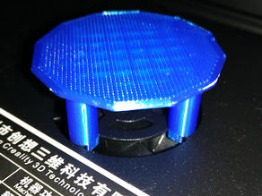 "Creality Ender 3 ""Flue Hat""-style fan cover"