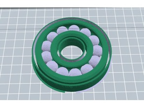 Dual Extrusion Ball Bearing With Supports