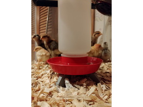 Miller mfg Little Giant Model 740 Poultry chick waterer stand