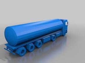 Gas Tanker truck
