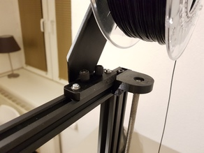 CR10 Spool Holder Frame Mount