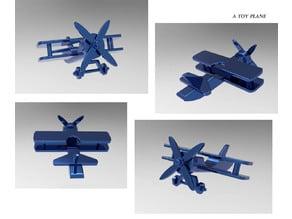 A toy plane Miniature